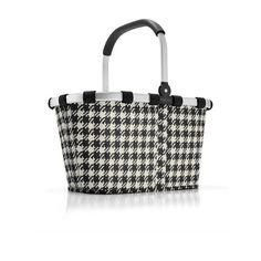 Reisenthel Foldable Carrybag in Fifties Black