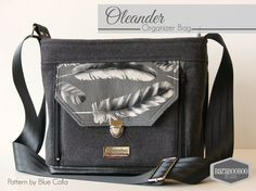 The Oleander Organizer Bag - New! PDF Sewing Pattern