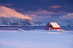 Sommarøy Sunset by antonyspencer, via Flickr