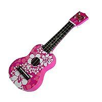 Hawaiian Child Ukulele Pink Floral by Buns of Maui. $20.49