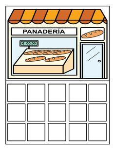 10.juego simbolico comprar en las distintas tiendas usando lista de la compra by Nieves Lopez Pons via slideshare