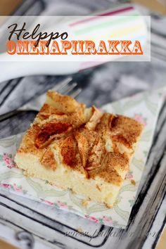 Pullahiiren leivontanurkka: Helppo yhden kulhon omenapiirakka