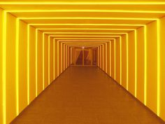 - Beyond James Turrell: 10 More Great Artists Who Use Light- - Gunda Foerster, TUNNEL. Permanent work at Berlin Deutscher Bundestag since - Red Aesthetic Grunge, Aesthetic Colors, Aesthetic Dark, Aesthetic Vintage, Cat Tiger, Light Tunnel, Yellow Photography, James Turrell, Pop Art