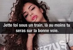 Phrase Rap, Citation Rap, Bitch, Text On Photo, Lol, Teen Life, French Quotes, Bad Mood, Best Memes