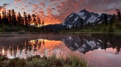 Magnificent old growth forests, stellar views of Mount Baker, turbulent tributaries,and a beautiful lake