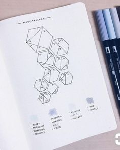 Feelings - hexagons