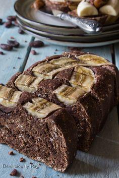 #raw #vegan Banana Bread from Deviliciously Raw