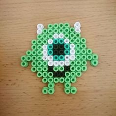 Mike Monsters Inc. hama beads  by sweetbeads