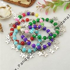 Fashion Glass Bead Bracelets
