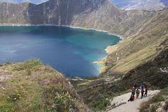 Laguna y Crater #Quilotoa http://www.ecuadorgalapagostravels.ec/modulos/laguna_quilotoa.php