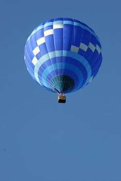 Blue Skies| Serafini Amelia| Adventure Ride-Hot Air Balloon-Blue Skies-Sky Photography by Marc Isolda