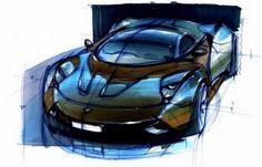Car sketches by Max Shershnev | Car Design Education Tips