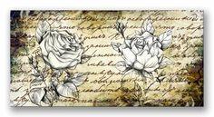 Cuadro Retro Roses II