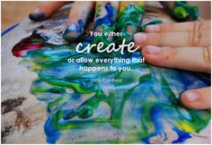 You can either create or allow everything that happens to you. - Jack Canfield #choice #quote #inspirational #inspirationalquote #inspirationalwords #create