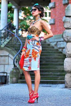 MIXTURE of prints!   Women's Look   ASOS Fashion Finder