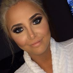 Love the eyes and contouring
