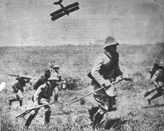 Cena das batalhas durante a Revolução Constitucionalista de 1932.