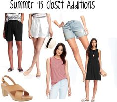 Summer '15 Closet Additions  Simple Closets and Capsule Wardrobes
