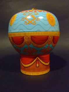 Vintage Baloon Tin Box #TuscanyAgriturismoGiratola