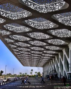 Marrakech Airport;  Shared by: Sparano+Mooney Architecture Los Angeles, California & Salt Lake City, UT Modern Architecture Firm 