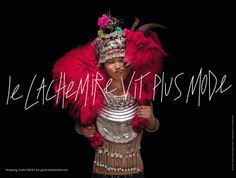 © Photo Jean-Paul Goude for Galeries Lafayette