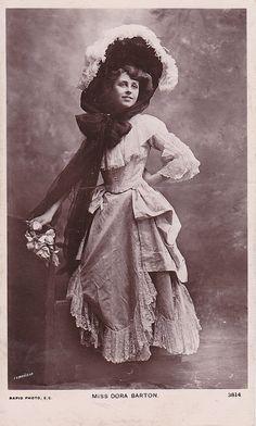 Dora Barton Edwardian actress