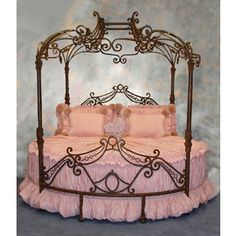 Princess Bed - my grand daughter would dig this no end...