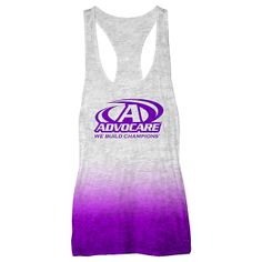 AdvoCare Womens Ombre Burnout Tank | Short Sleeve | Tops | Womens | Advocare Catalog | AdvoCare Apparel