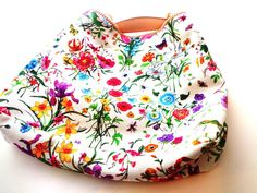 Gucci large canvas Floral horsebit handle...ahhh spring!