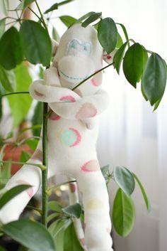 Sockenaffe * Sockenäffchen * Sockentier * Sock Monkey