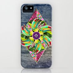 ▲ KAHOOLAWE ▲ iPhone Case by Marie Brignot ▲ BOHEMIAN BLAST - $35.00