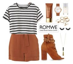 """""""Romwe"""" by katerina-rampota ❤ liked on Polyvore featuring Whistles, Sterling Forever, Gianvito Rossi and Roads"""