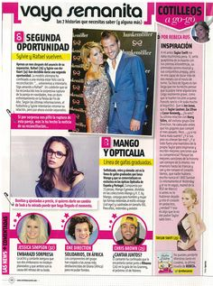 #Mango y #Opticalia en revista #Cuore
