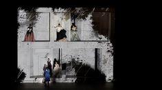 Don Giovanni. Royal Opera House. Scenic design by Es Devlin. 2014