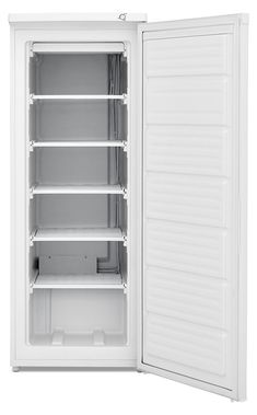 Frigidaire 23 Inch Freestanding Freezer with 6 cu. Capacity in White. Wire Shelving, Shelves, Upright Freezer, Frigidaire, Chest Freezer, Kitchen Furniture, Furniture Storage, Furniture Ideas, Futuristic Furniture