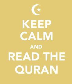 Read the Quran..