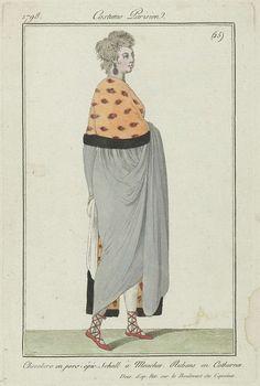 Journal des Dames et des Modes: Ladies' Fashion, Anonymous, Pierre de la Mésangère, 1798