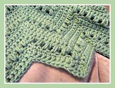 Speedy Puff Baby Blanket | Crochet Pattern | Free | YouCanMakeThis.com