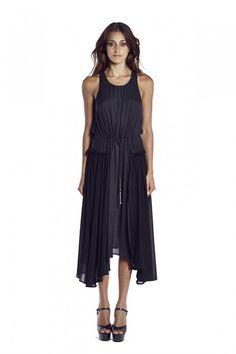 THE WORSHIPPED DRAWSTRING DRESS by Shona Joy at Carousel