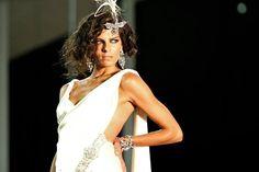 Maravilloso vestido de novia de Tenerife Moda.