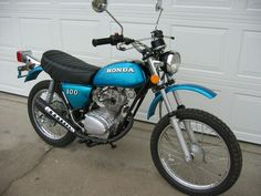 Honda SL100 Motosport Motorcycle