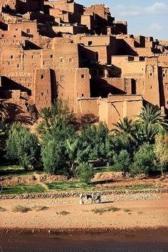 Ksar d'Aït-Ben-Haddou, Maroc