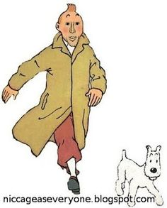 Nic Cage as Tintin