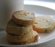Recipe Passionfruit and Lime Shortbread by Thermomix in Australia - Recipe of category Baking - sweet My Recipes, Sweet Recipes, Cookie Recipes, Favorite Recipes, Stamp Cookies Recipe, Thermomix Desserts, Xmas Food, Biscuit Cookies, Shortbread
