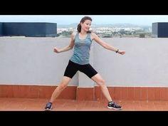 Rutina cardio que trabaja especialmente abdomen y cintura pero también trabaja mucho piernas y brazos Cardio Standing Abs and Obliques Workout MUSICA -SNABIS...