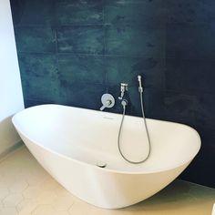 Bath decor in Bucharest, Romania.