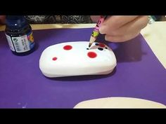 Distintas tecnicas Jabones y toallas - YouTube Decoupage, Butter Dish, Diy And Crafts, Pintura Country, Youtube, Dishes, Videos, Tutorials, Pink