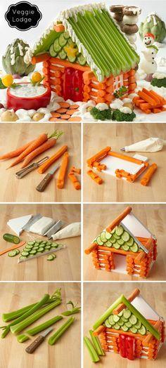 Casita de verduras. Veggie house
