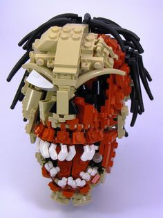 Lego Zombie! by cmaddison, via Flickr