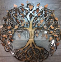 Infinity Tree (Copper Sparkle) - Humdinger Designs